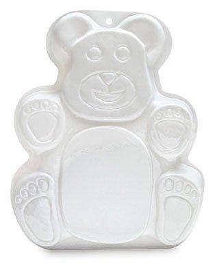 Pantastic Teddy Bear Plastic Cake Baking/Microwave Pan