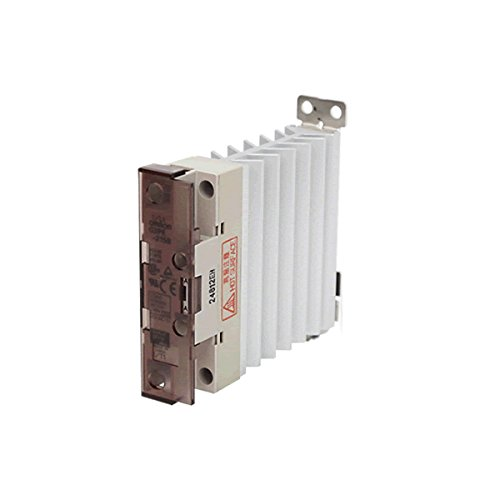 Omron G3PE-515B DC12-24 Solid State Relay for Heaters, Zero Cross Function, Yellow Indicator, Phototriac Coupler Isolation, Single-Phase, 15 A Rated Load Current, 200 to 480 VAC Rated Load Voltage, 12 to 24 VDC Input Voltage