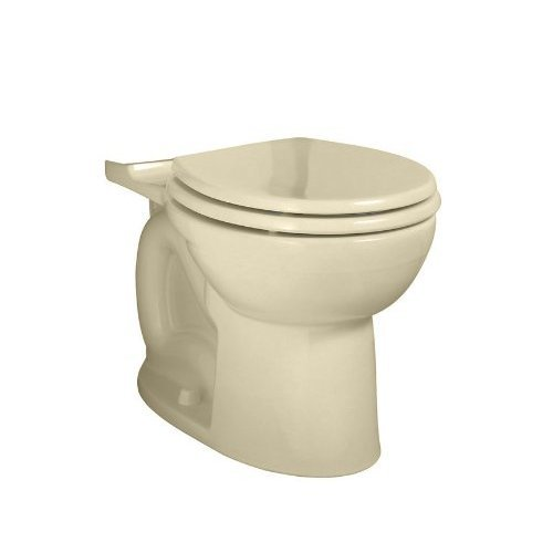 American Standard 3005.016.021 Cadet-3 Round Toilet Bowl in Bone Finish