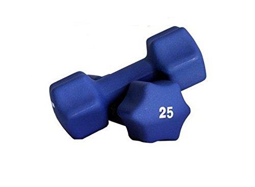 Ader Neoprene Dumbbell 1-30lb Single Size Pair or Set