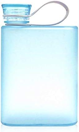 User 400ml Sport Waterfles lekvrij Duidelijk Vierkante Creatieve Kop Waterkoker