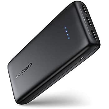 Amazon.com: RAVPower Portable Charger 22000mAh External ...
