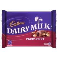Nuts Dairy Fruit (Cadbury Dairy Milk Fruit & Nut 120g From England)
