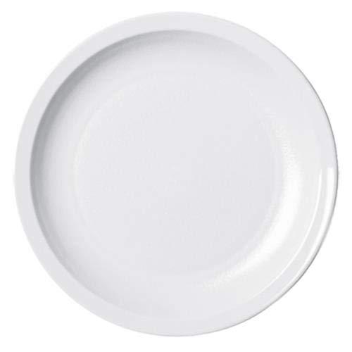 - Cambro 825CWNR148 Plate, Narrow Rim, 8-1/4