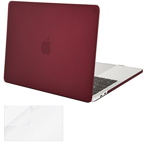 New Mosiso Plastic Hard Case with Screen Protector for Macbook Pro 13 Inch with Retina Display (A170...
