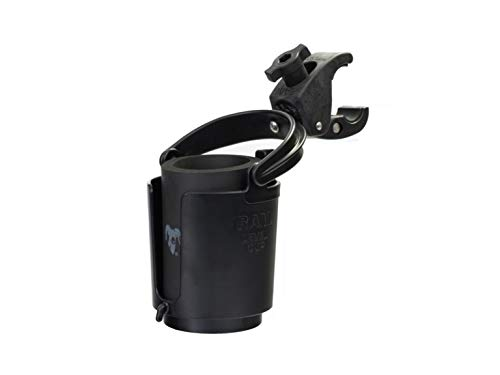 (RAM MOUNTS (RAM-B-132-400U Tough-Claw Mount with Self-Leveling Cup Holder)