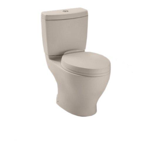 Toto CST412MFNo.03 Aquia Dual Flush Toilet, 1.6-GPF and 0.9-GPF, Bone - 6 Gpf Bone