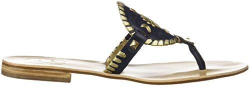 Gold Midnight Damen Sandale Jack Rogers Georgica fTUx6O