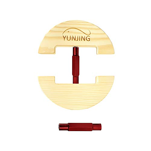 YUNJING Hat Stretcher, One Size Adjustable to All hat Sizes from 6-1/2 to 8-1/2, Three Color, Simple & Easy to Use-Heavy Duty (Red)