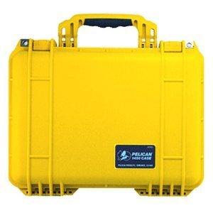 Pelican 1450 Case With Foam (Yellow)