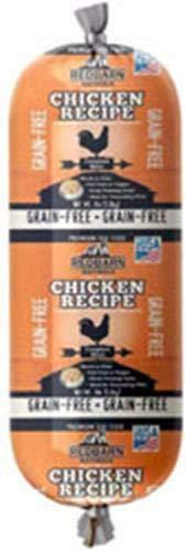 Grainfree Rolled Dog Food Chicken (3 Lbs)