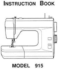Descargar Pdf-File Singer W915 máquina de coser: Amazon.es: Hogar