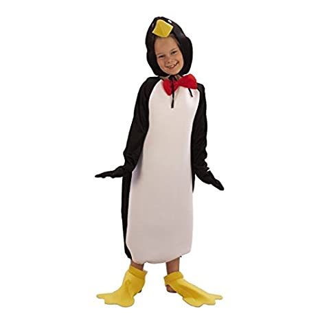 negozio ufficiale marchio famoso l'ultimo Costume pinguino bambino 4/6 anni (104/116): Amazon.it ...