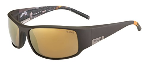 Bolle King Sea Polarized Inland Gold Oleo AF, Matte Brown ()