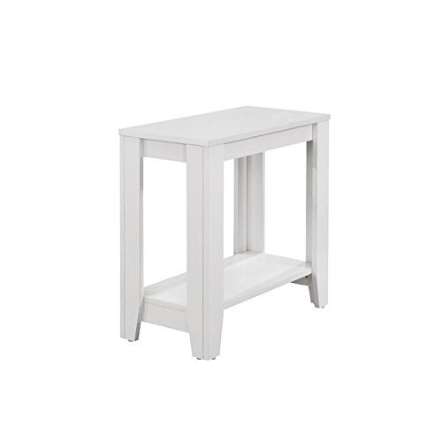 Monarch Accent Table White 24