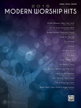 (2015 Modern Worship Hits - PVG Songbook)