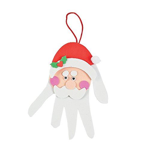 Handprint Santa Decoration Craft Kit (Handprint Santa)