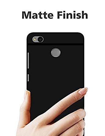 Verward Mi Redmi 3S Prime  Black  Back Cover Back Cover