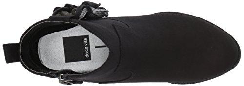 Dolce Vita Girls' Jemma Ankle Boot, Black Microsuede, 3 Medium US Little Kid by Dolce Vita (Image #8)
