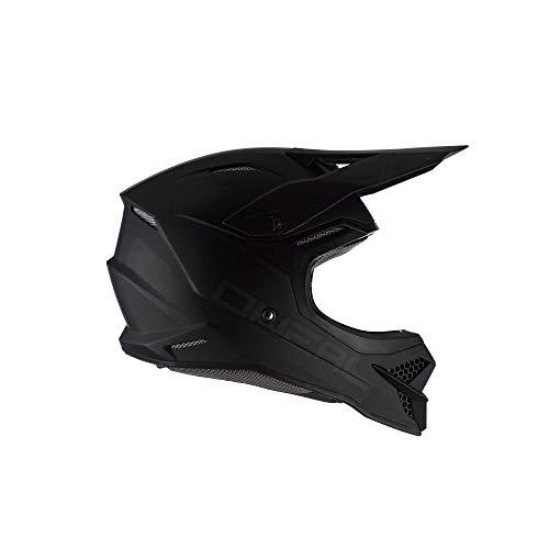 (O'Neal 3 Series Unisex-Adult Off-Road Helmet (Flat Black, S))