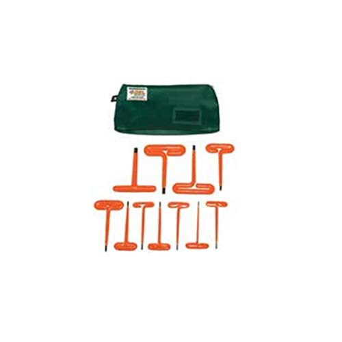 OEL Insulated Tools 262344, Hex''T'' Wrench Set (11 pcs)