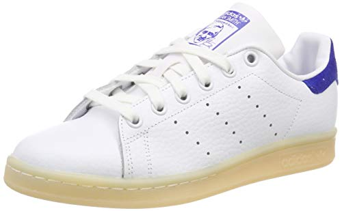 Bianco white Ginnastica Da 488 Stan Blue Basse Uomo Scarpe Smith Adidas white bold 6nqRq