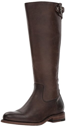 (FRYE Women's Jayden Buckle Back Zip Riding Boot, Slate, 5.5 M US)