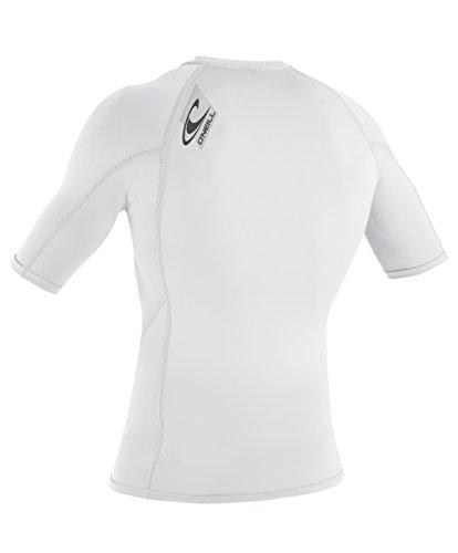 O'Neill Wetsuits Men's Premium Skins Upf 50+ Short Sleeve Rash Guard