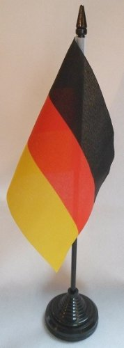 """Warstore Germany German 4"""" X 6"""" Desktop Table Flag for sale  Delivered anywhere in Canada"""