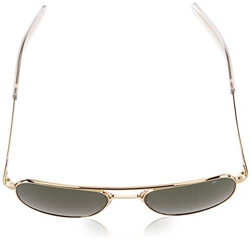 American Optical Polarizada Gafas dorada 57 TqwPgxdn