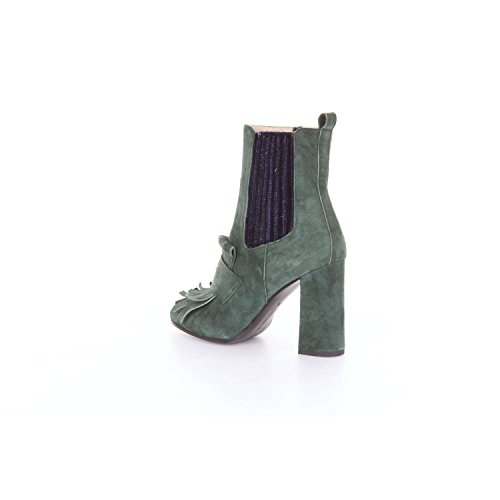 Dell'acqua Green Dark Women Alessandro Boot Ankle 3703a A6wXdxxqY