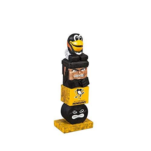 (Team Sports America NHL Tiki Totems (12 Inches, Pittsburg Penguins))