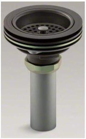 lat/ón pulido Kohler Duostrainer Grid Desag/üe para fregadero de cocina