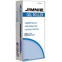 Zebra(R) Jimnie(R) Gel Ink Rollerball Pens, Medium Point,...