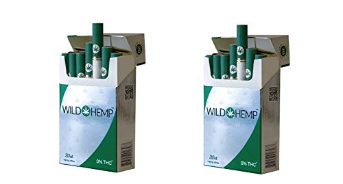 (Wild Hemp Cigarettes - Hemp-Ettes (2 Pack of 40)