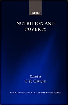 Nutrition and Poverty (WIDER Studies in Development Economics)