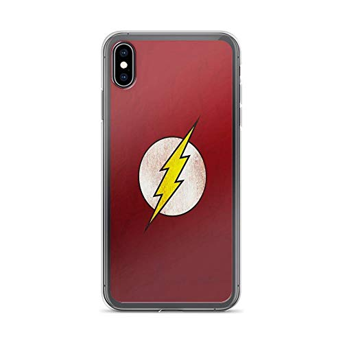 Beamm-Frost Compatible with iPhone Xs Max Case The Flash Vs Arrow Superhero Fight Comics Pure Clear Phone Cases Cover (Flash Vs Arrow)