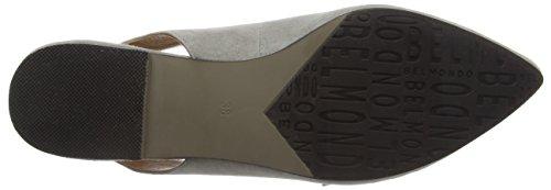 Belmondo 703343 - Sandalias de punta cerrada, Mujer Gris