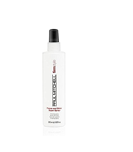 Freeze Super Hold Spray - Paul Mitchell Freeze and Shine Super Spray, 16.9 fl. oz.
