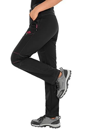 Escursionismo Sci Haines 02 Montagna Impermeabili Donna Invernali Alpinismo Softshell Pantaloni Trekking Da nero xqF8zxf6w