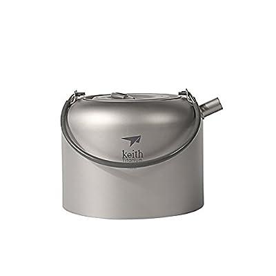 Image of Coffee & Tea Pots Keith Titanium Ti3907 Kettle - 1.5 L