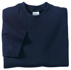 Gildan Ultra Blend 8000 50/50 Cotton/Poly T-Shirt - Navy Blue, Medium
