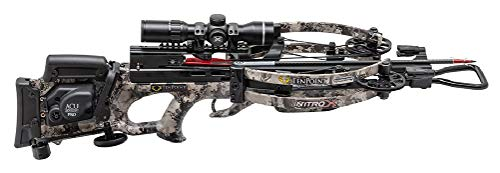 (TenPoint Nitro X Crossbow with RangeMaster Scope ACUdraw Pro and Stag Case)
