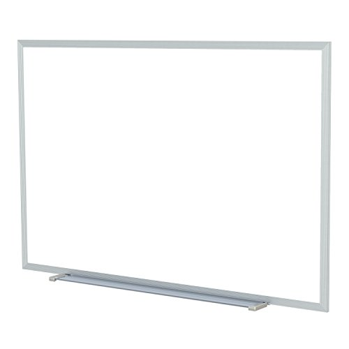 "Ghent 4.5"" x 10.5"" Alum Frame Painted Steel Magnetic Whiteboard, 1 Marker, 1 Eraser"
