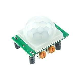 SYF-- Módulo Del Sensor Hc-Sr501 Humano Piroeléctrico Infrarrojo Para Arduino Uno R3 Mega 2560 Nano