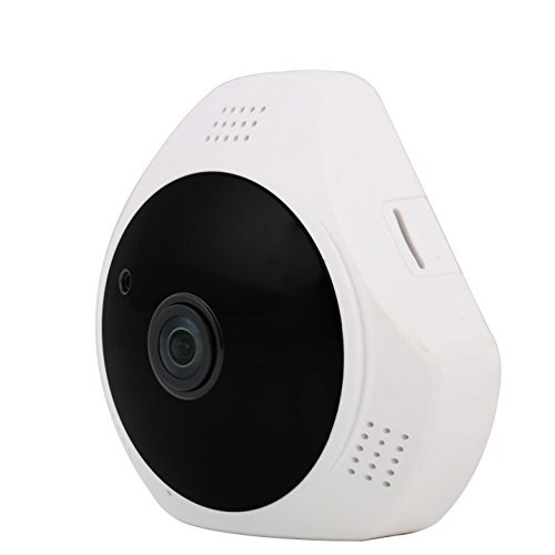 Be With Your Loved Ones While You're Away Ensure Their Safety Wide Angle CCTV Wi-Fi Camera Built in Audio Receptor Motion Sensor Night Vision Remote Access & More by NTC