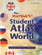 Mapquest Atlas Student - MapQuest Student Atlas of the World 2nd Edition