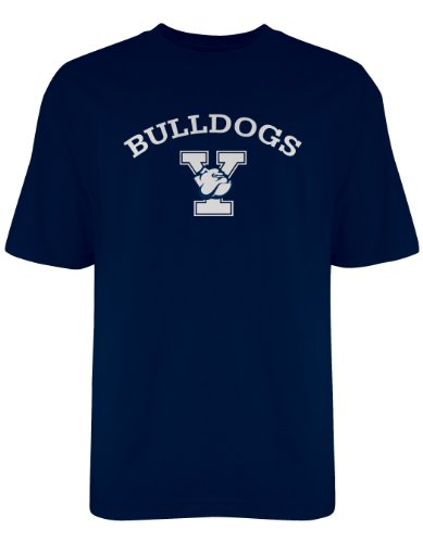 ncaa-yale-bulldogs-gildan-t-shirt-large-navy
