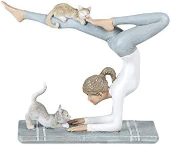 Vidal Regalos Figura Decorativa Clasica Chica Yoga Resina 18 ...