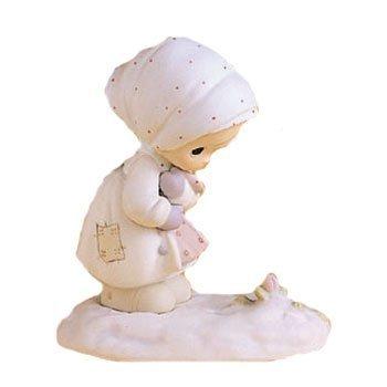 Precious Moments February Calendar Figurine